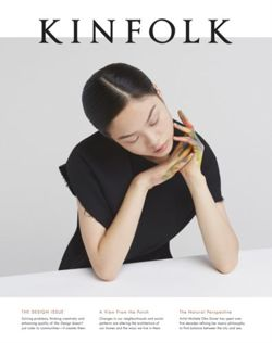 Kinfolk Volume 18 The Design Issue