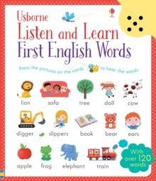Listen and Learn First English Words by Sam Taplin