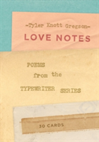 Love Notes: 30 Cards (Postcard Book): Poems from the Typewriter S Poems from the Typewriter Series