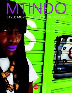 MTINDO: Style Movers Rebranding Africa Style Movers Rebranding Africa
