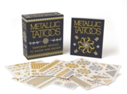 Metallic Tattoos 15 Temporary Tattoos to Dazzle and Delight