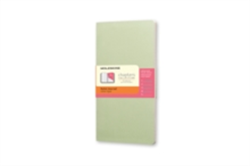 Moleskine Chapters Journal Mist Green Slim Pocket Ruled