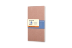 Moleskine Chapters Journal Old Rose Slim Large Ruled