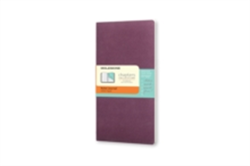 Moleskine Chapters Journal Plum Purple Slim Pocket Ruled