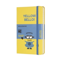 Moleskine Minions Limited Edition Sunflower Yellow Pocket Ruled Notebook Hard