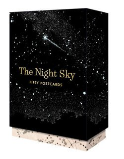 Paper + Goods: The Night Sky 50 Postcards