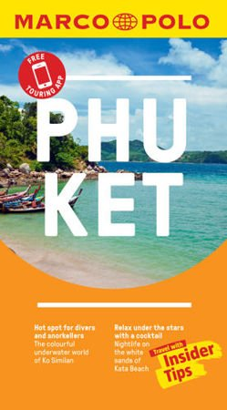 Phuket Marco Polo Pocket Travel Guide 2019 - with pull out map