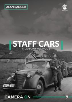 Staff Cars In Germany WW2