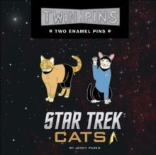 Star Trek Cats Twin Pins