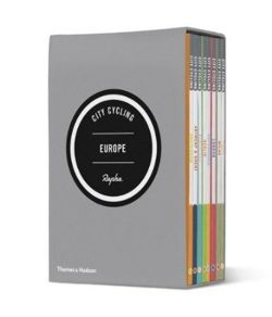 The eight guides in the City Cycling Europe series are each devoted to a different city: London, Amsterdam, Copenhagen, Antwerp/Ghent, Berlin, Paris, Barcelona and Milan.
