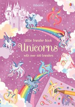 Unicorns. Little Transfer Book