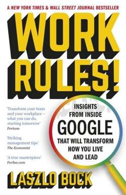 Work Rules! : Insights from Inside Google